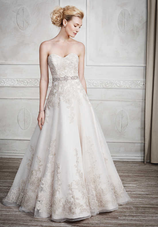 A guide to 6 basic wedding dress silhouettes the best for Top of the line wedding dresses