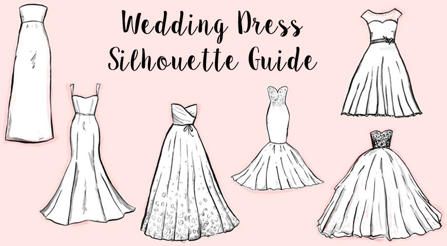 A Guide to 6 Basic Wedding Dress Silhouettes
