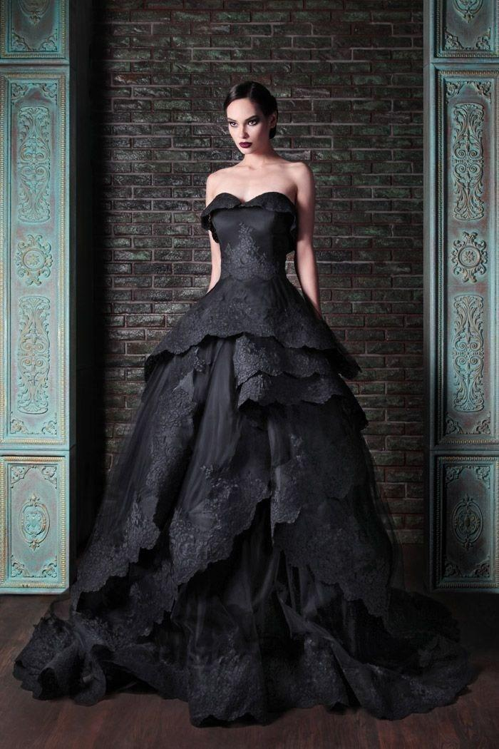 25 Astonishing Ideas of Black Wedding Dresses | The Best Wedding Dresses