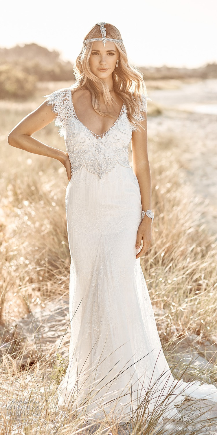 Country Chic Wedding Dresses A Bohemian Dress