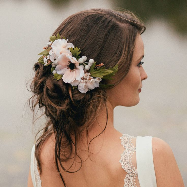 20 Wedding Hairstyles With Flowers: 33 Wedding Hairstyles You Will Absolutely Love
