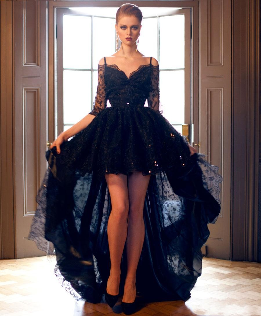25 astonishing ideas of black wedding dresses the best wedding dresses. Black Bedroom Furniture Sets. Home Design Ideas