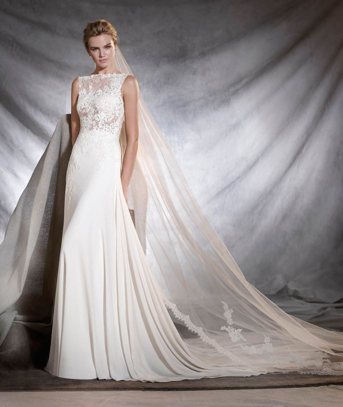 A Pronovias wedding dress