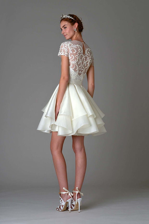 What are some cool informal wedding dress ideas the for Baby doll style wedding dress