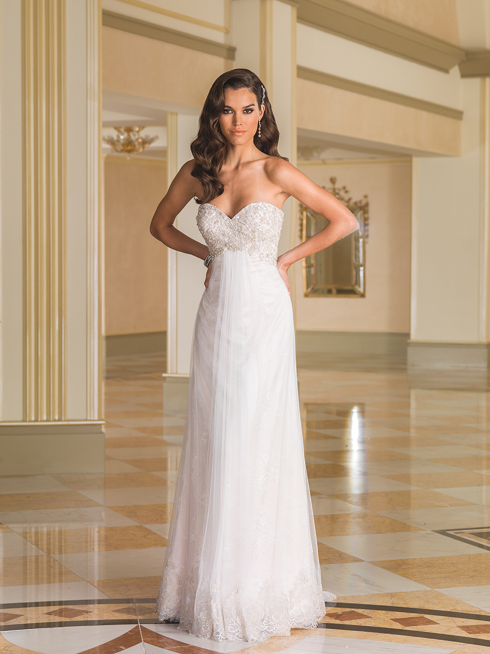 What are the best wedding dresses for petite brides the for Wedding dress for petite women
