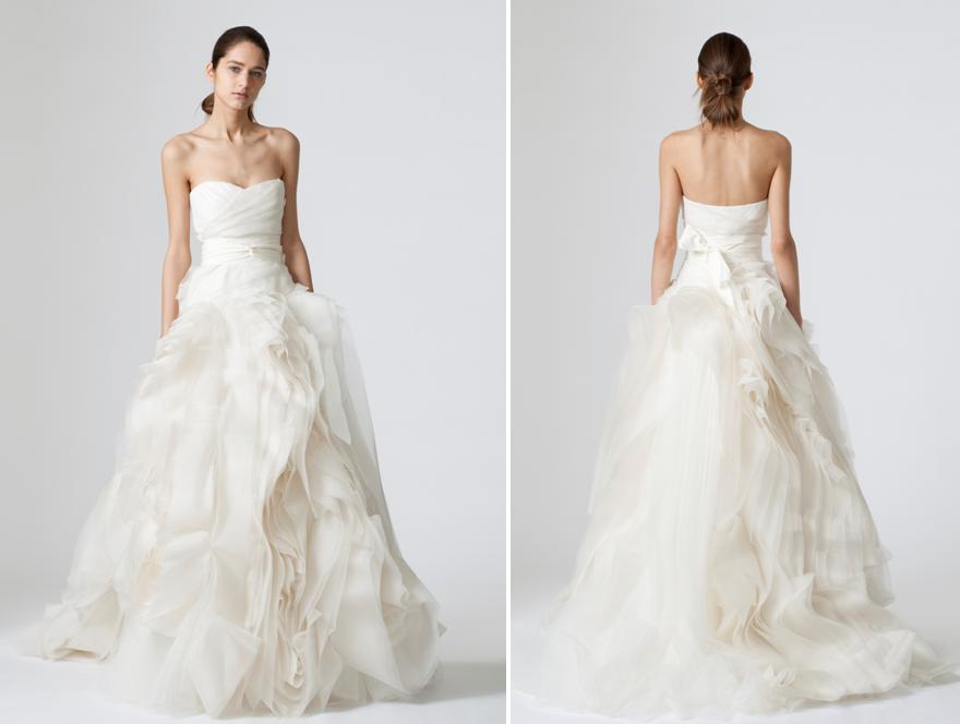 Vera Wang Diana wedding gown