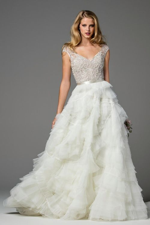 Watters Ansel Skirt wedding gown