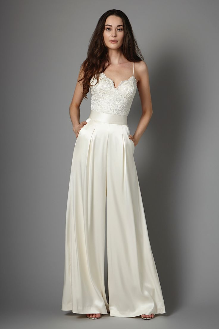 What are some cool informal wedding dress ideas the - Jumpsuit hochzeit ...