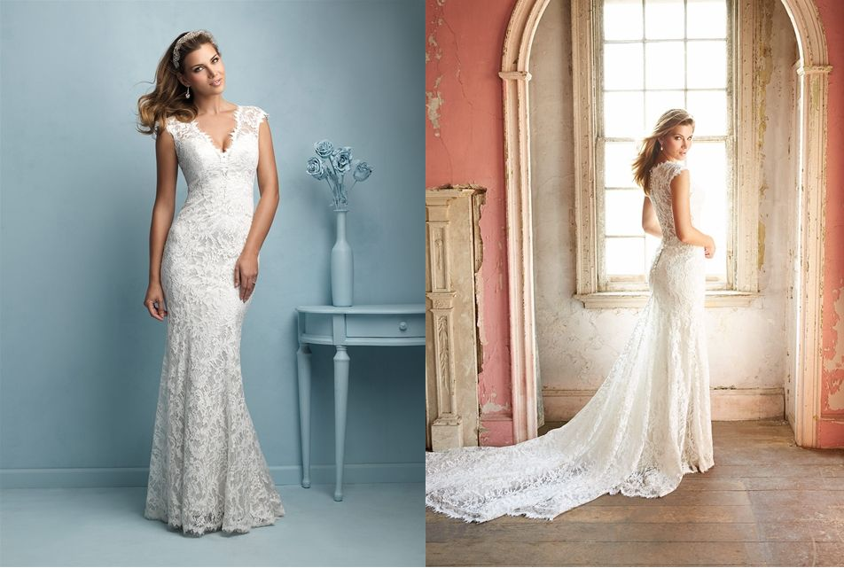 The Allure Bridal dress