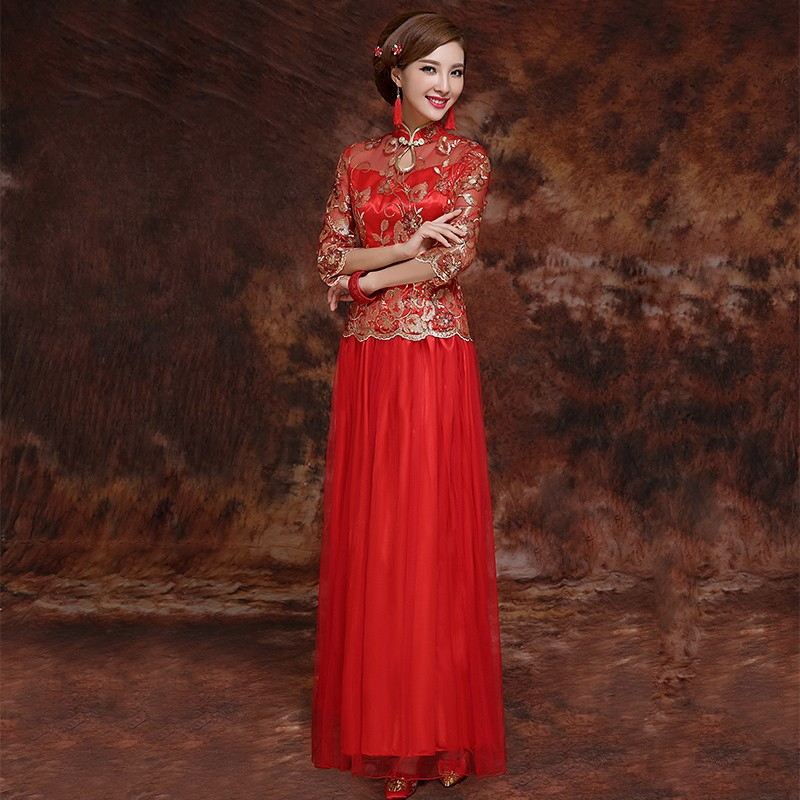 Chinese Wedding Gowns: Why Do Some Brides Get Married Using Red Wedding Dresses