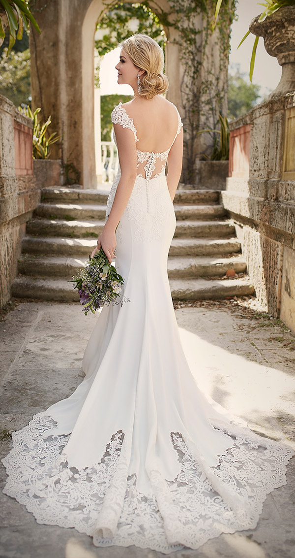 Low Open Back Wedding Dresses