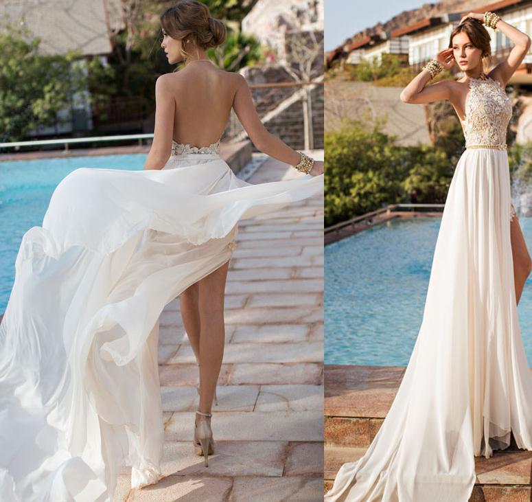 65 Perfect Low Back Wedding Dresses
