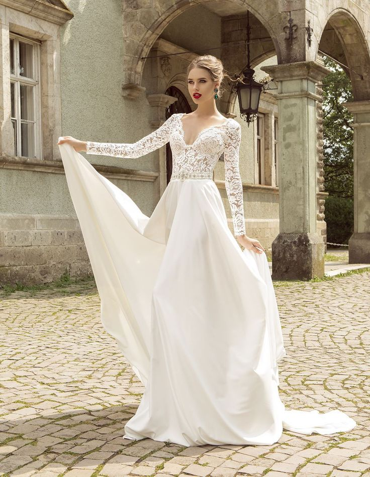 25 long sleeve wedding dresses you will fall in love with for Top of the line wedding dresses