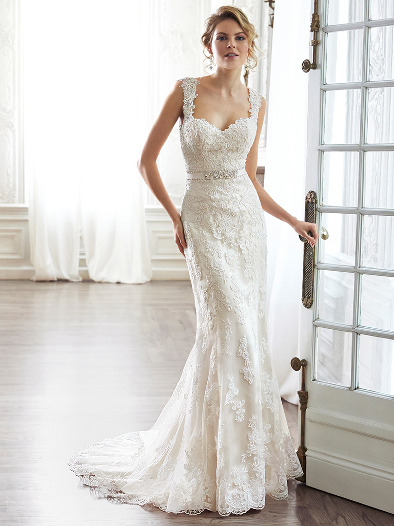 Maggie Sottero wedding dress Pia