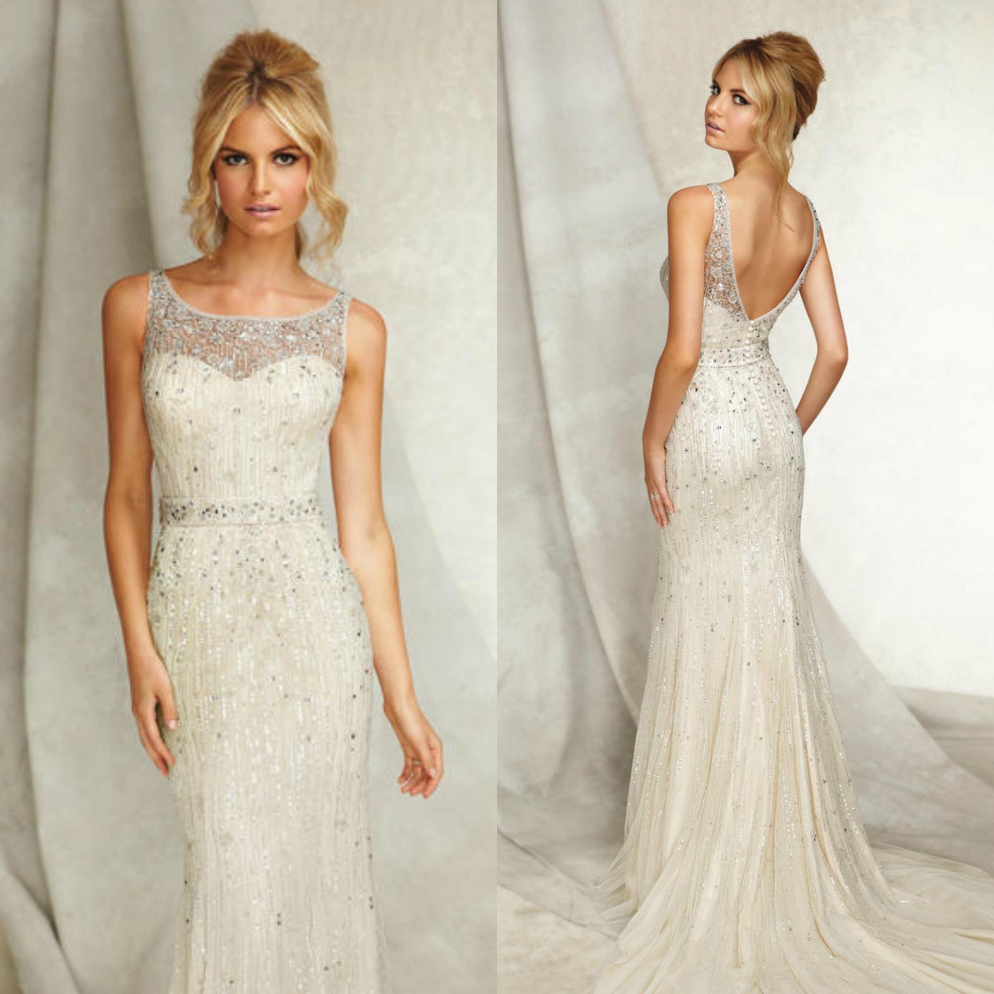 65 Perfect Low Back Wedding Dresses | The Best Wedding Dresses