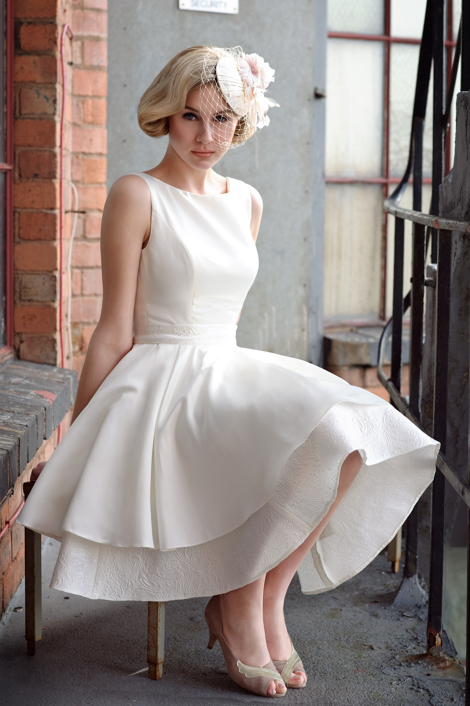 35 inspirational ideas of simple wedding dresses the best wedding a simple short wedding dress junglespirit Choice Image