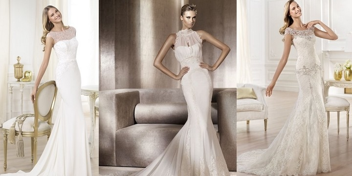 Wedding dresses for tall brides