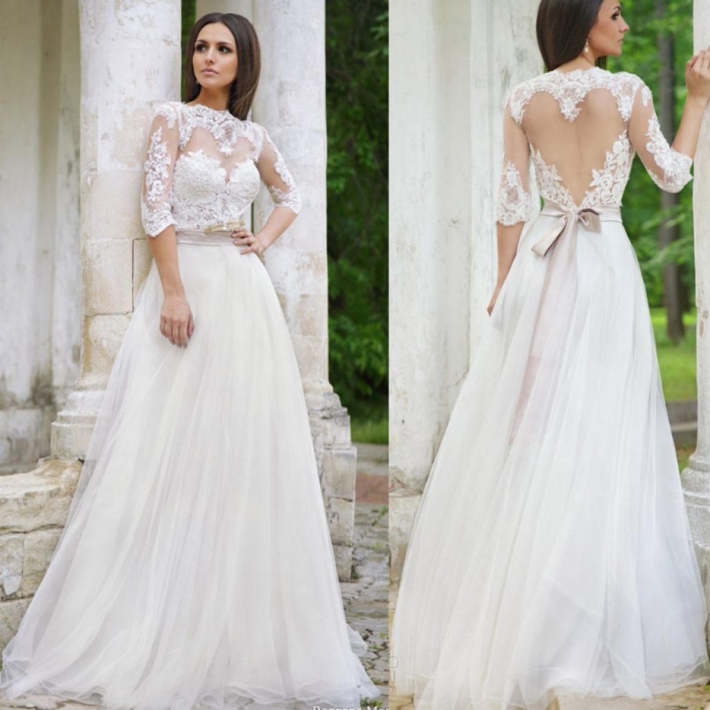 40 Gorgeous Lace Sleeve Wedding Dresses | The Best Wedding Dresses