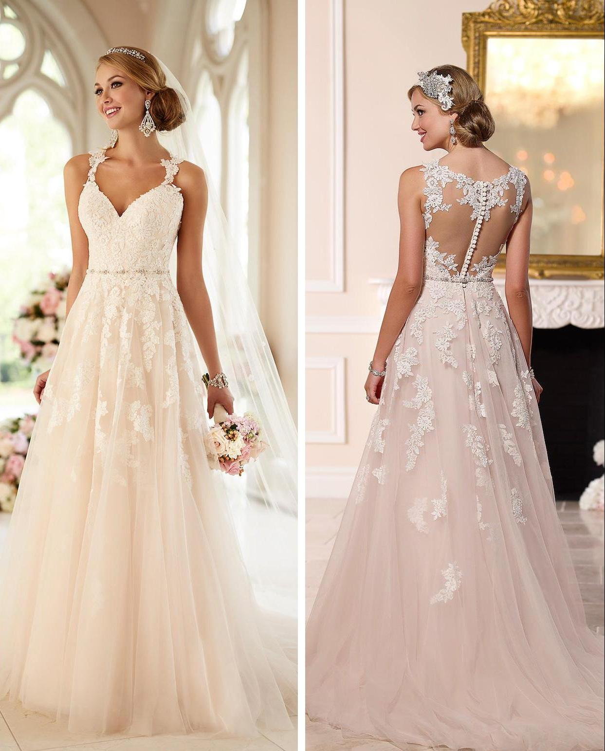 Best Wedding Gown: 31 Incredible Lace Wedding Dresses Ideas