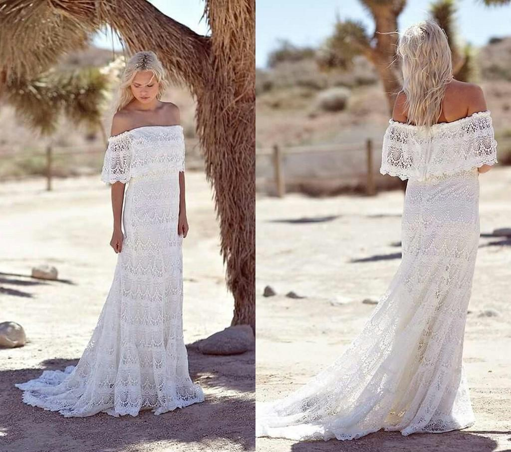 31 incredible lace wedding dresses ideas the best for Short beach style wedding dresses