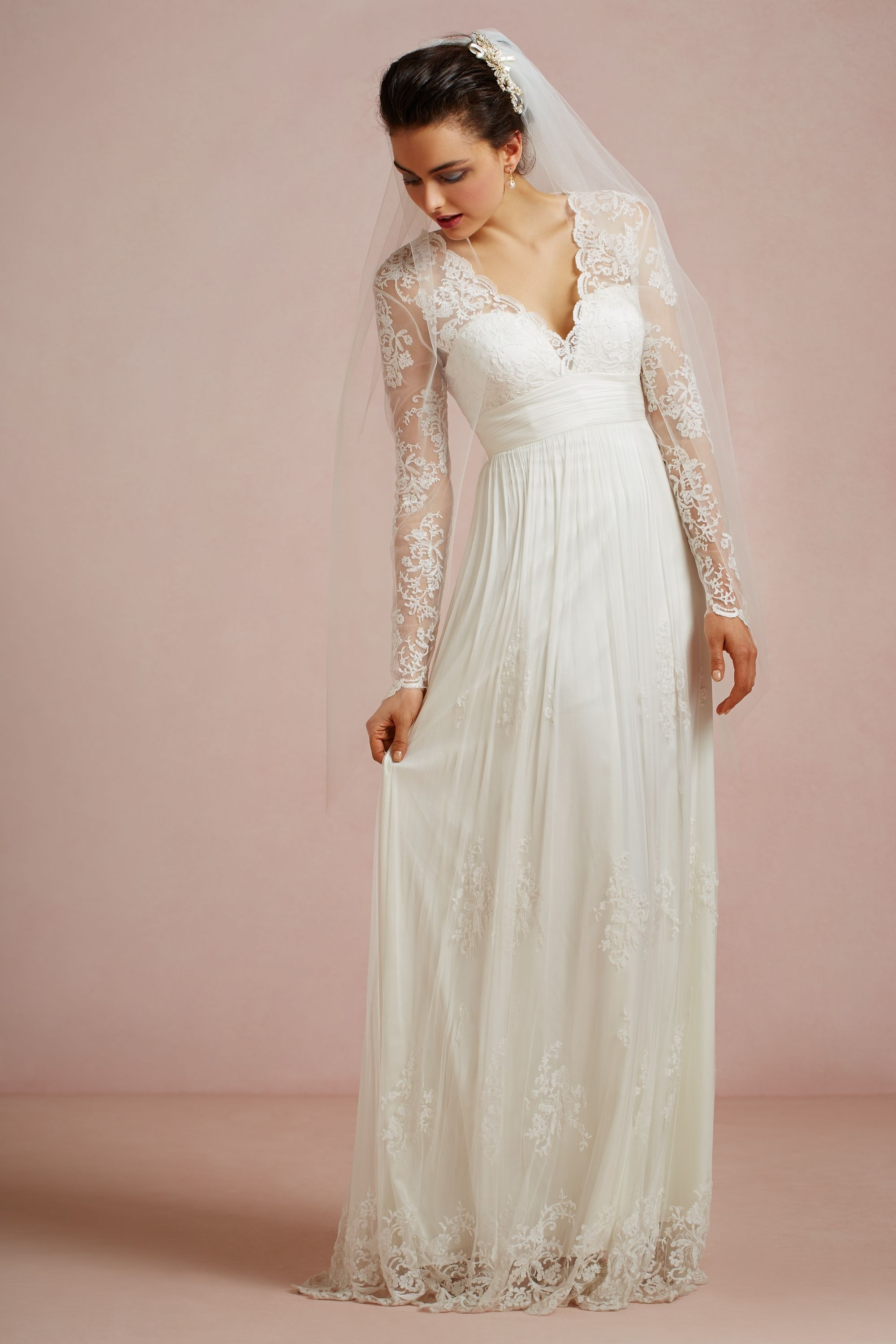 40 gorgeous lace sleeve wedding dresses the best wedding for Best lace wedding dresses