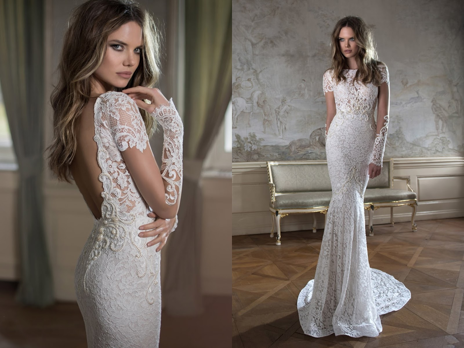 lace long sleeve wedding dresses 40 gorgeous lace sleeve wedding dresses the best wedding 5365