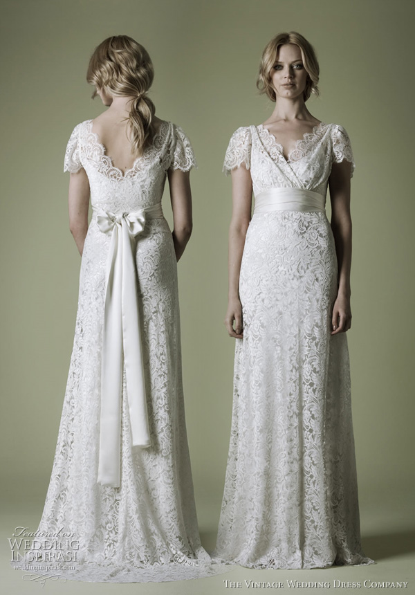Old fashioned romantic dresses for weddings