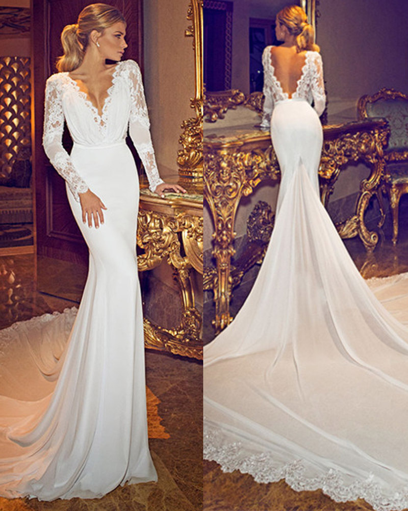 40 gorgeous lace sleeve wedding dresses the best wedding for Best wedding dresses with sleeves