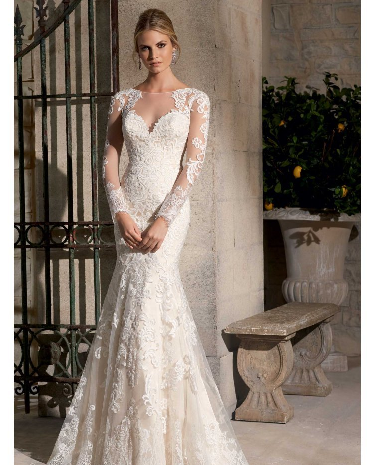 31 Incredible Lace Wedding Dresses Ideas | The Best Wedding Dresses