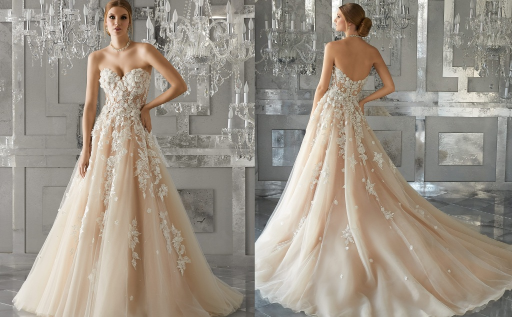 Review of Meadow Morilee Wedding Dress | The Best Wedding Dresses