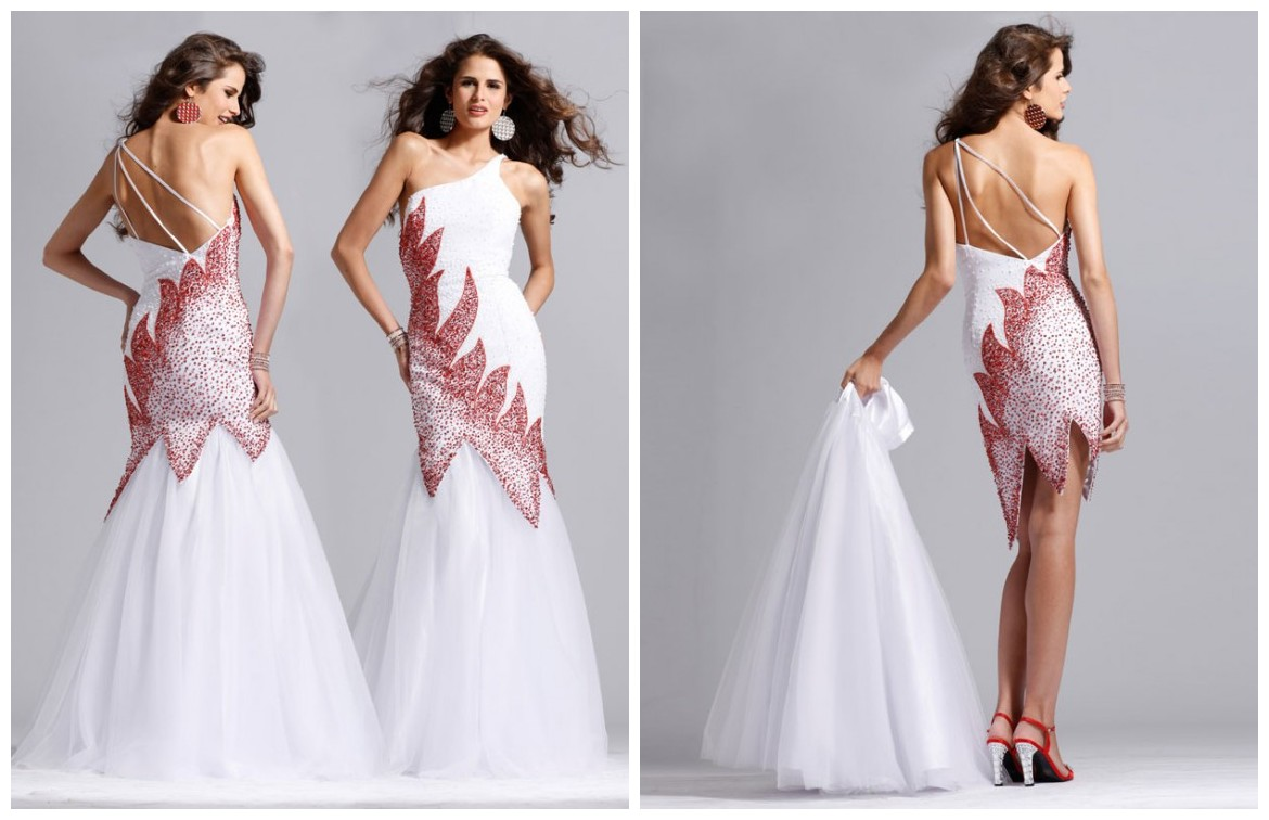 21 unique wedding dresses ideas for brides who dont want to mermaid wedding dress with detachable skirt ombrellifo Images