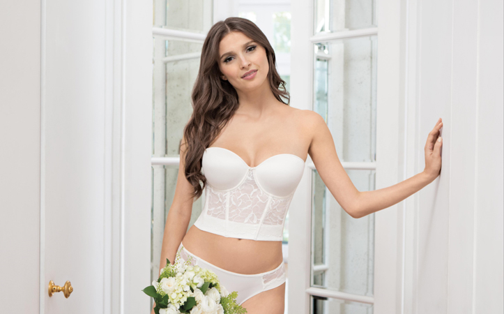 A guide to the best undergarments for wedding dresses for Best bustier for strapless wedding dress