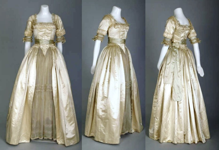How wedding dresses have changed evolution of the wedding for 18th century wedding dress