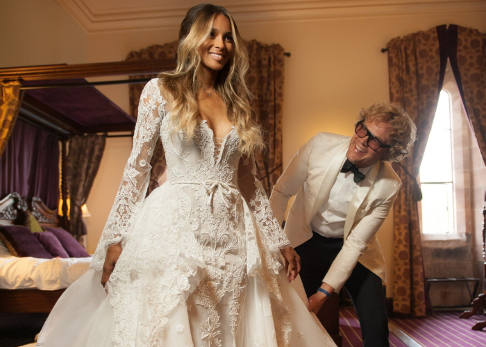Ciara's wedding dress