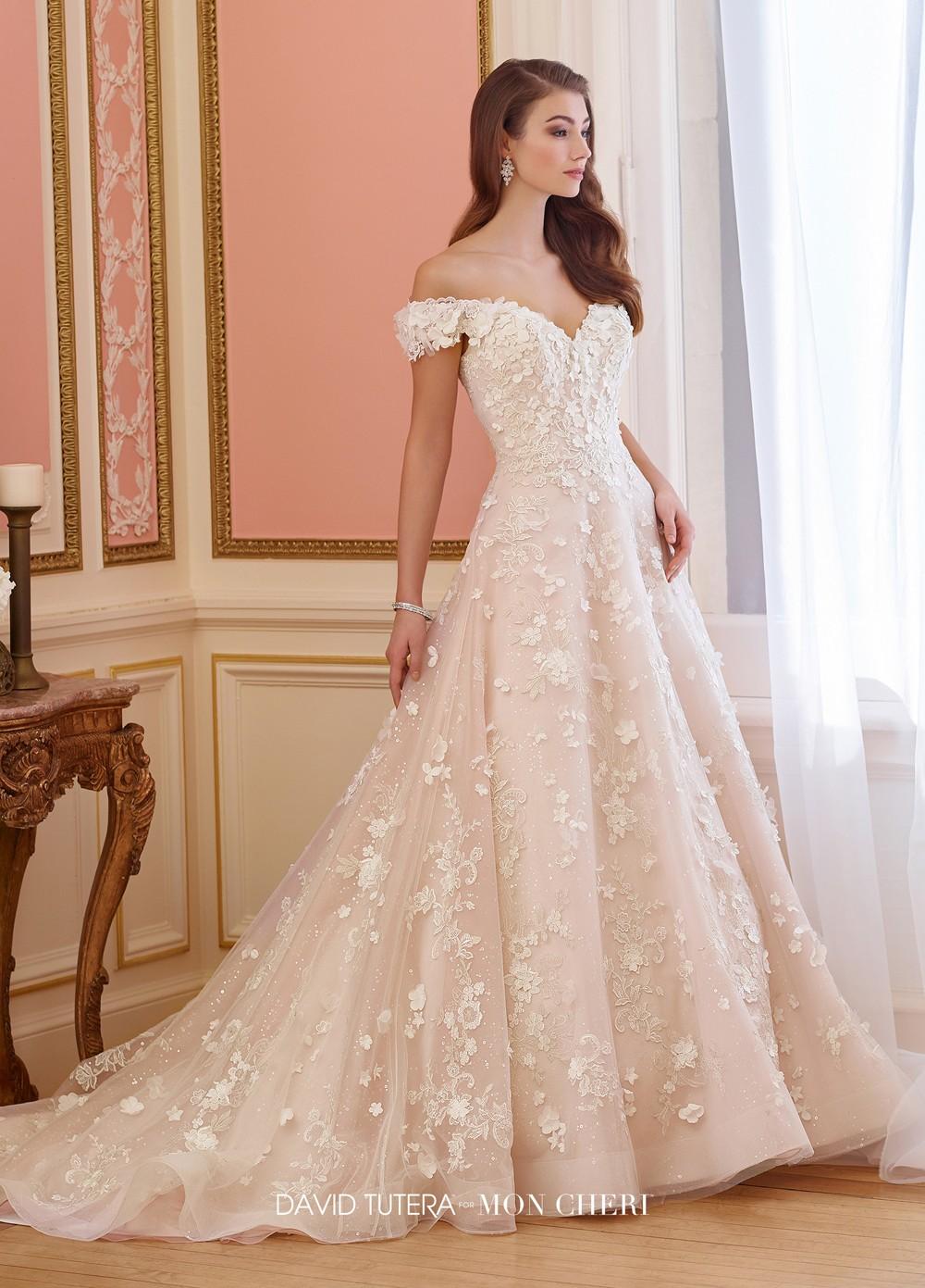 David Tutera 217230 Elnora Wedding Dress