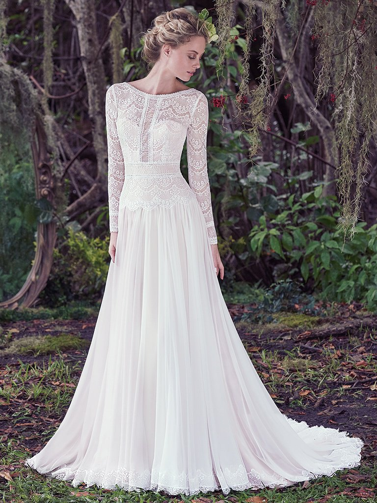 Deirdre dress by Maggie Sottero