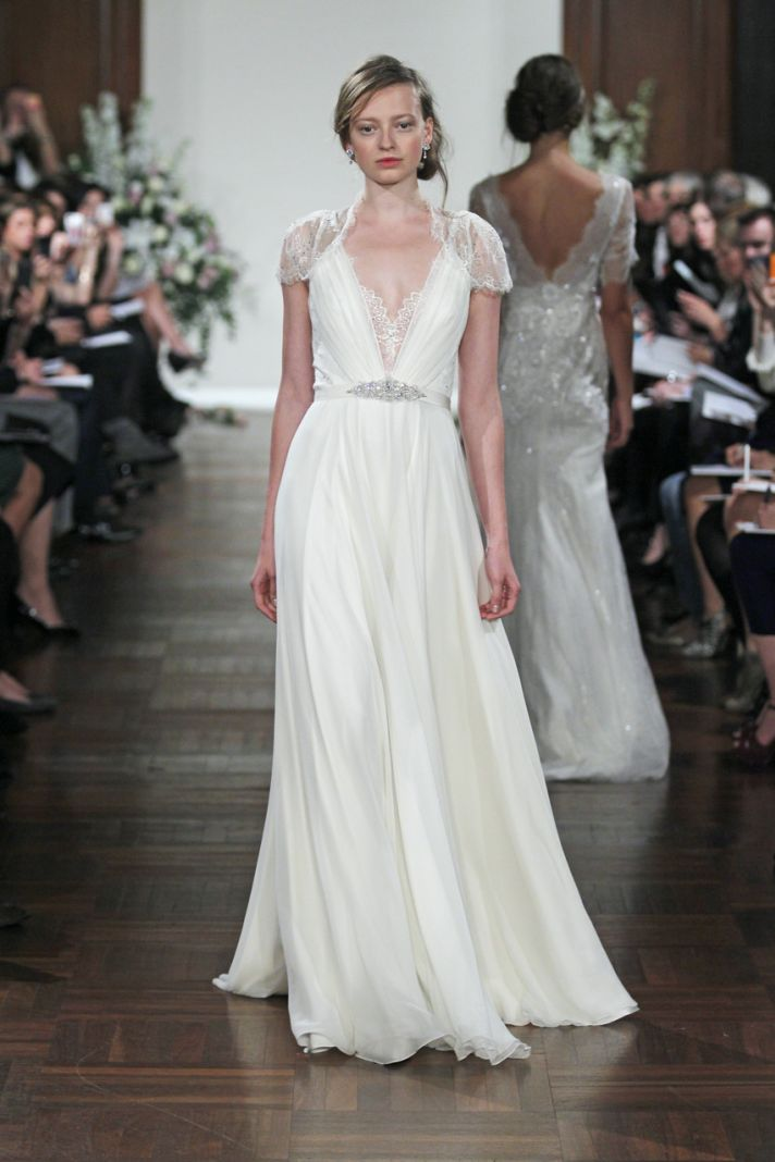 Dentelle gown by Jenny Packham