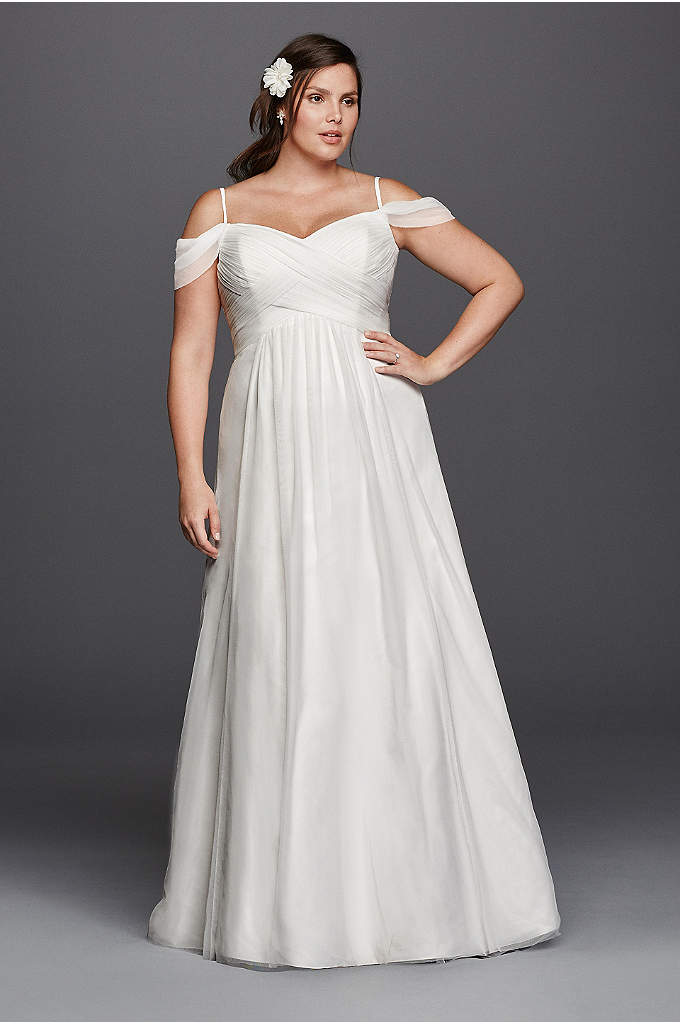 What are the best solutions for plus size brides tips on for Empire waist plus size wedding dress