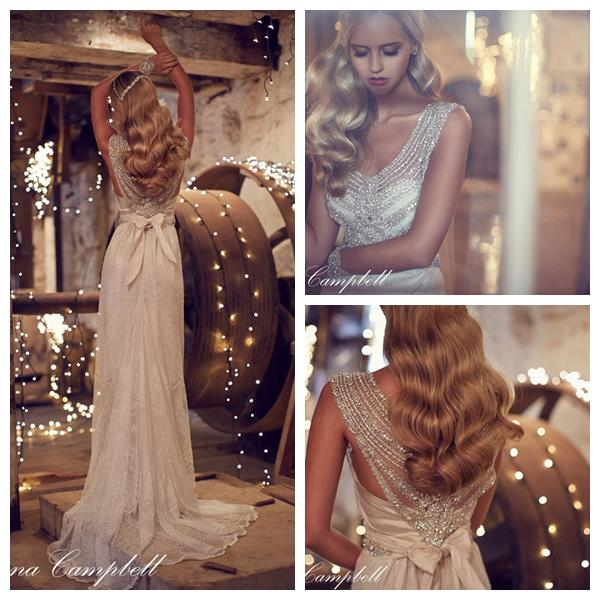 Giselle wedding dress by Anna Campbell