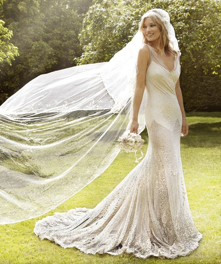 Wedding Dress of Kate Moss