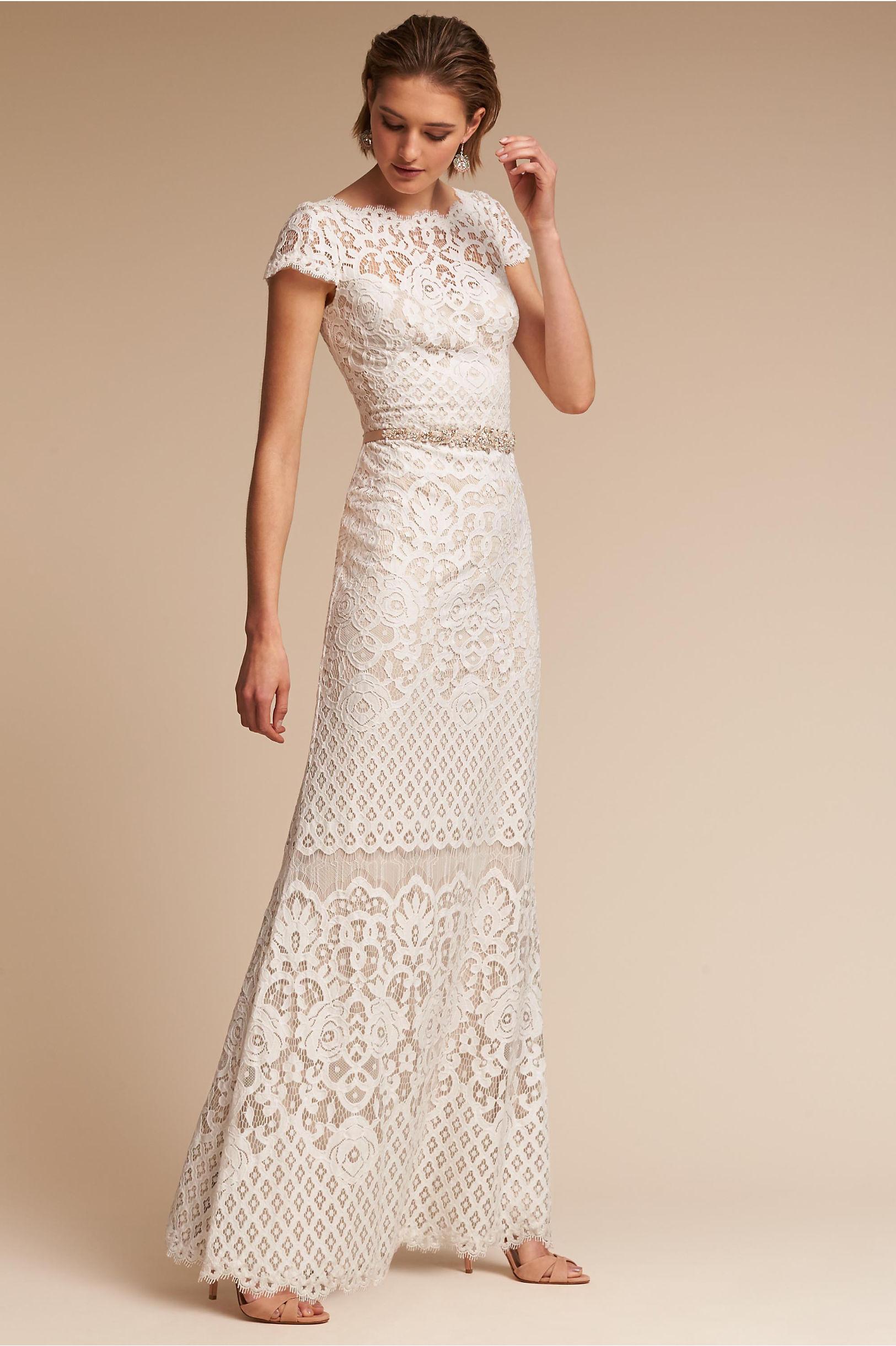 Tadashi Shoji Wedding.25 Astonishing Vintage Wedding Dresses From Modern Wedding