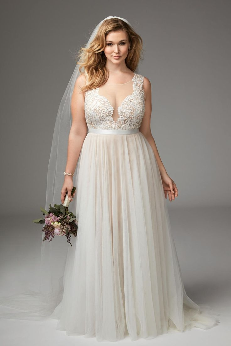 What are the best solutions for plus size brides tips on for Best wedding dress styles for plus size brides