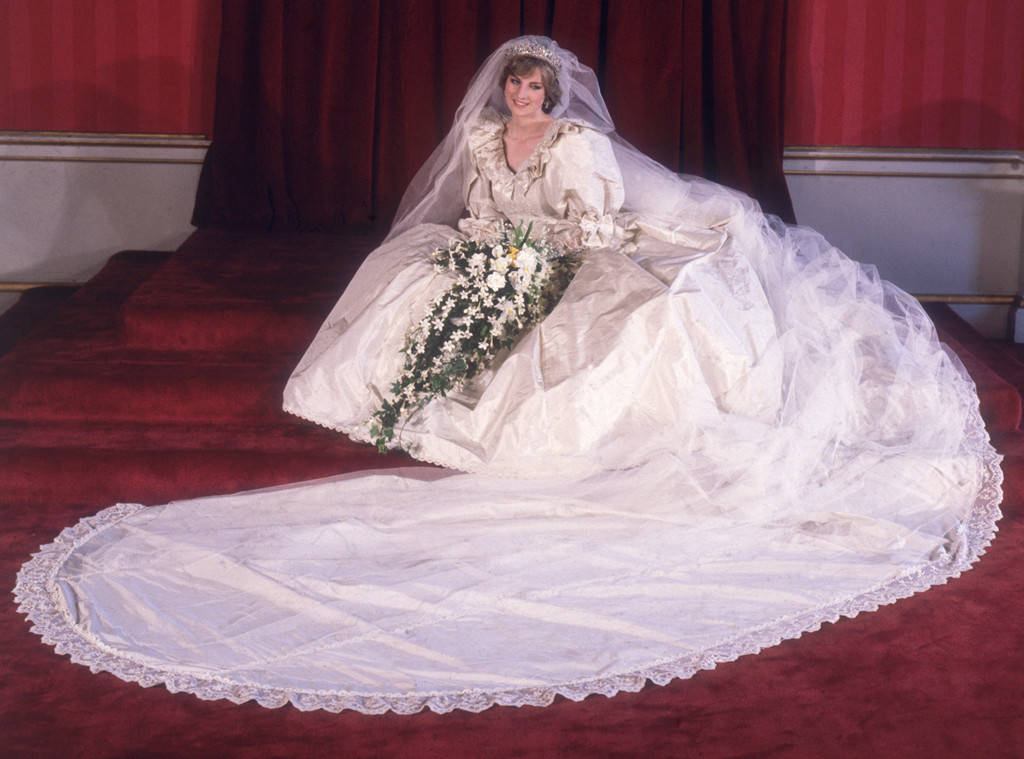 Princess Diana's wedding dress