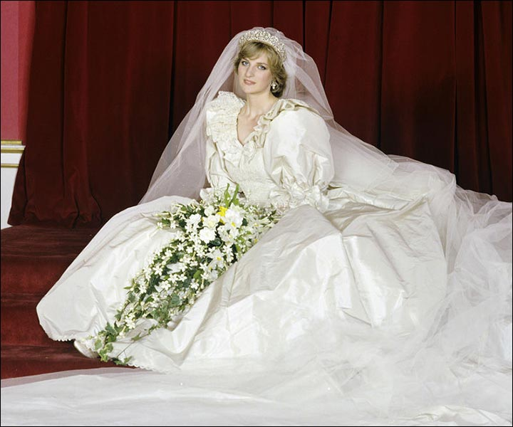 Princess Diane's wedding dress