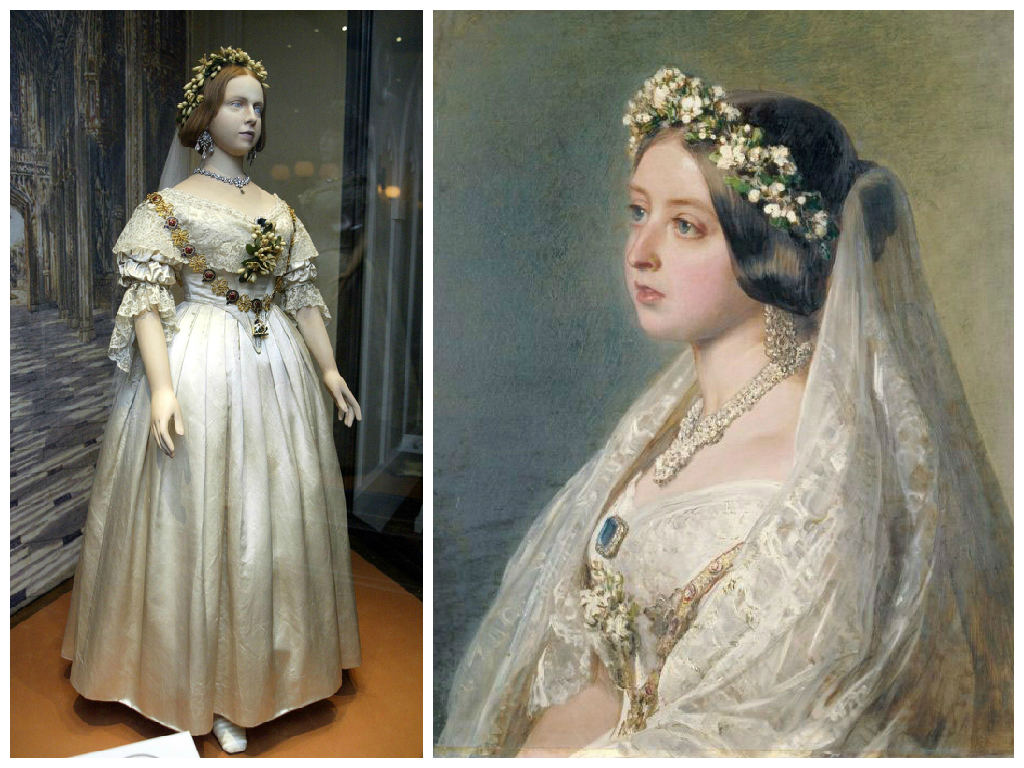 Queen victoria wedding dress images