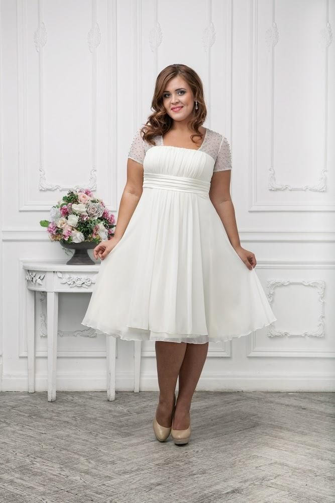 What are the best solutions for plus size brides tips on for Best wedding dresses for short fat brides