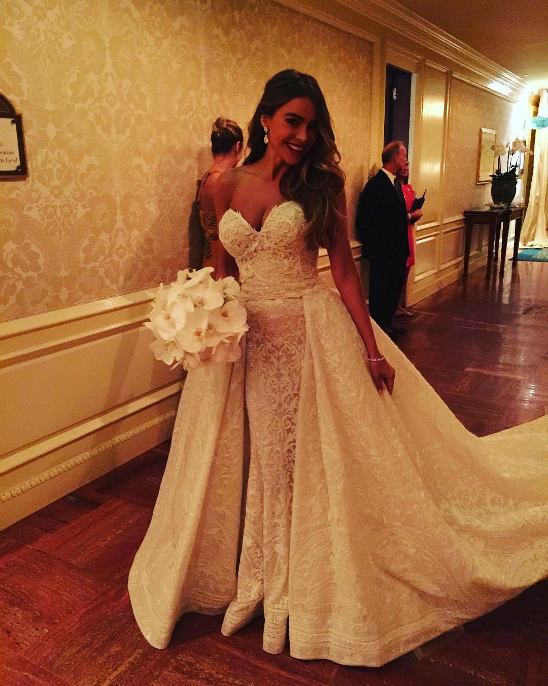 Sofia Vergara's wedding dress