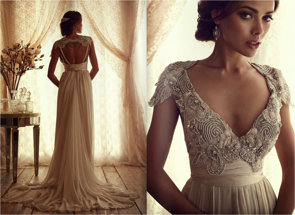 25 Astonishing Vintage Wedding Dresses From Modern Wedding Brands