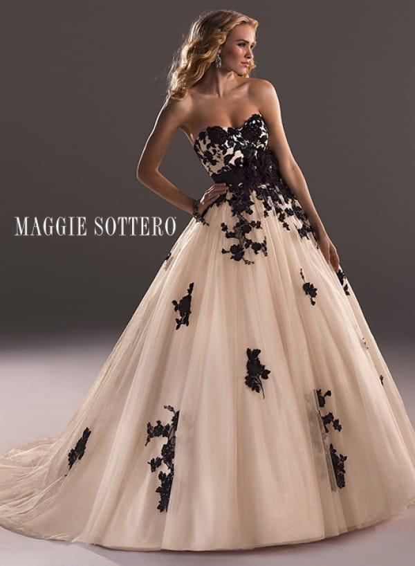 Black Wedding Dresses Review Of Mona Lisa Wedding Gown By
