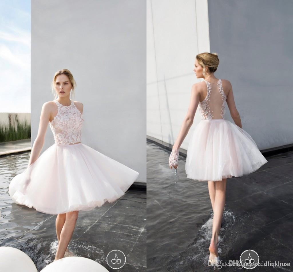 17 Coolest Variants of Short Wedding Dresses | The Best Wedding Dresses
